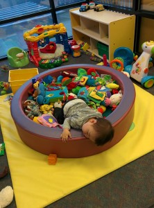 Passed out at daycare