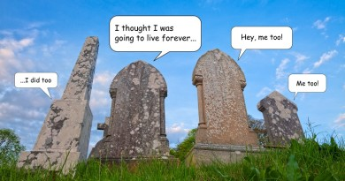 tombstones talking