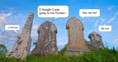 tombstones talking