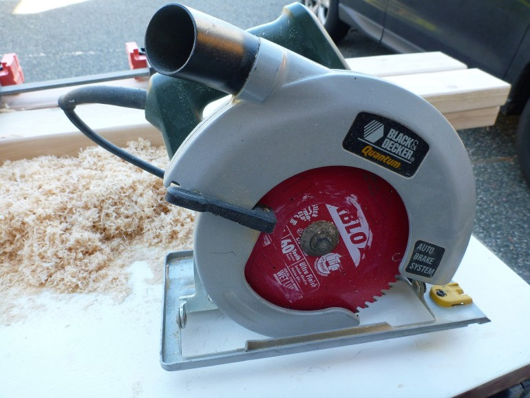 My circular saw from the Buy Nothing Project. $0.