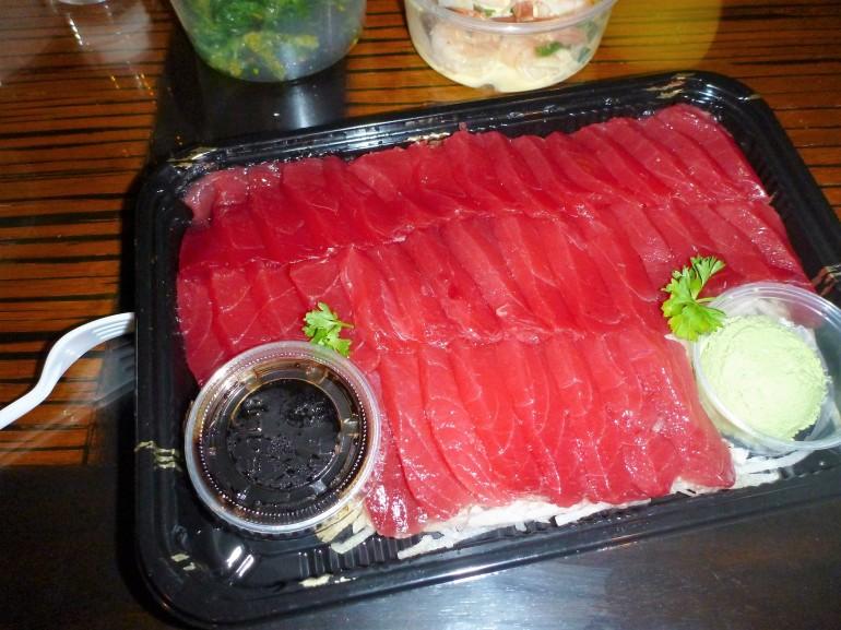costco sashimi platter