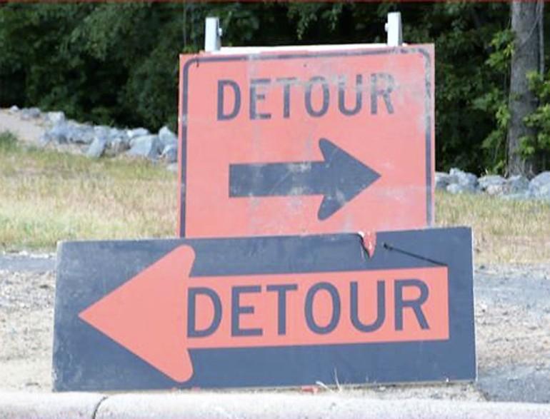 detour choices