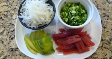 Fancy Sushi Dinner
