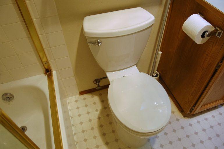 New toilet!