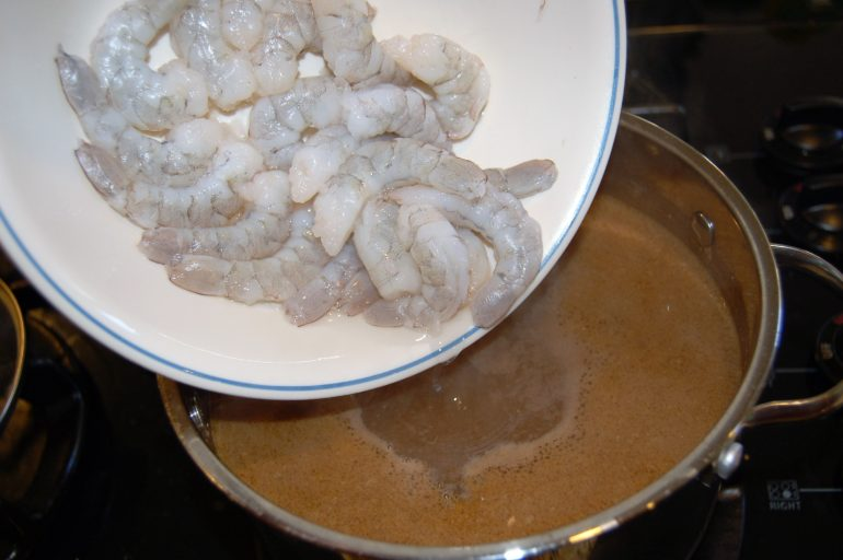 Shrimp spa