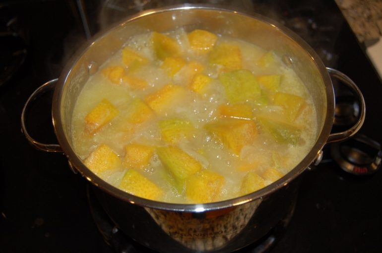 Boiled Pumpkin