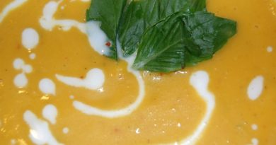 Pumpkin Soup closeup