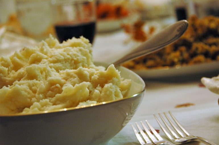 Mashed Potatoes.