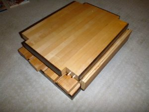 Flattened Side table