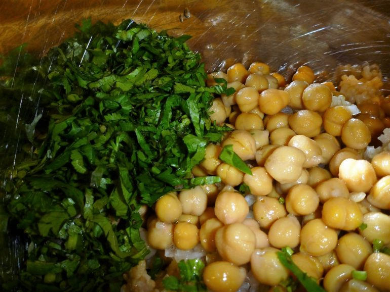 Onions Beans And Cilantro
