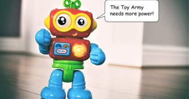Toy army recruiter
