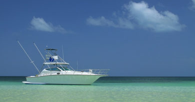 yacht in the carribean