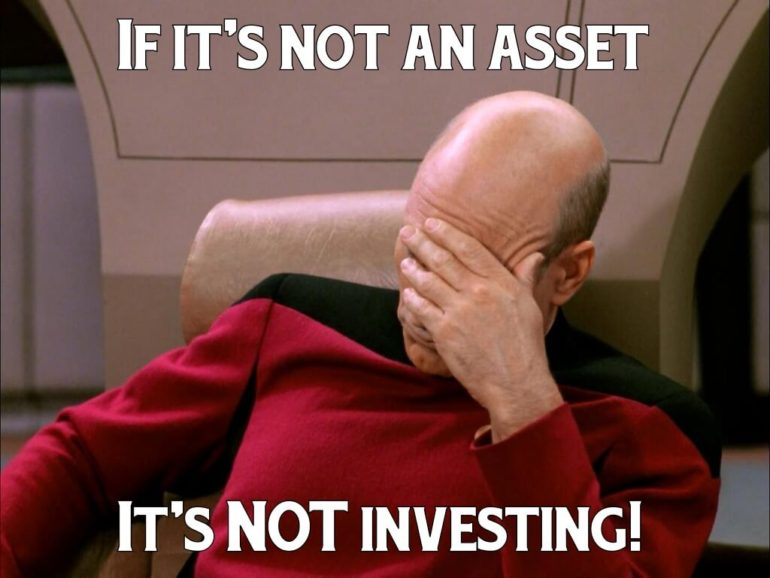 not investing