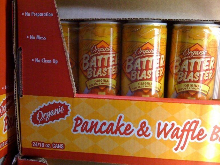 organic pressurized pancakes
