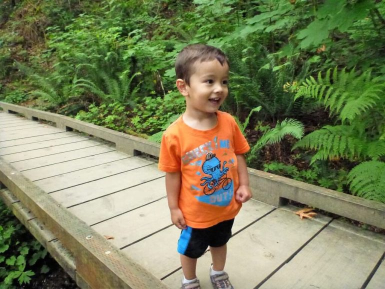 kids love hiking