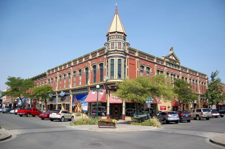 ellensburg iconic brick buildings