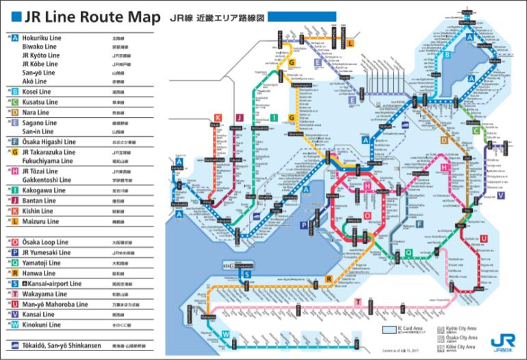 rail way map