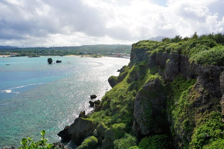 okinawa cliff