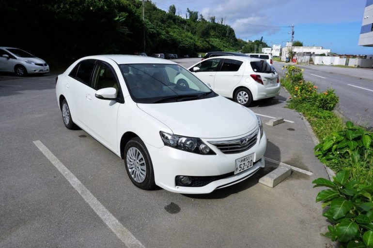 okinawa rental car