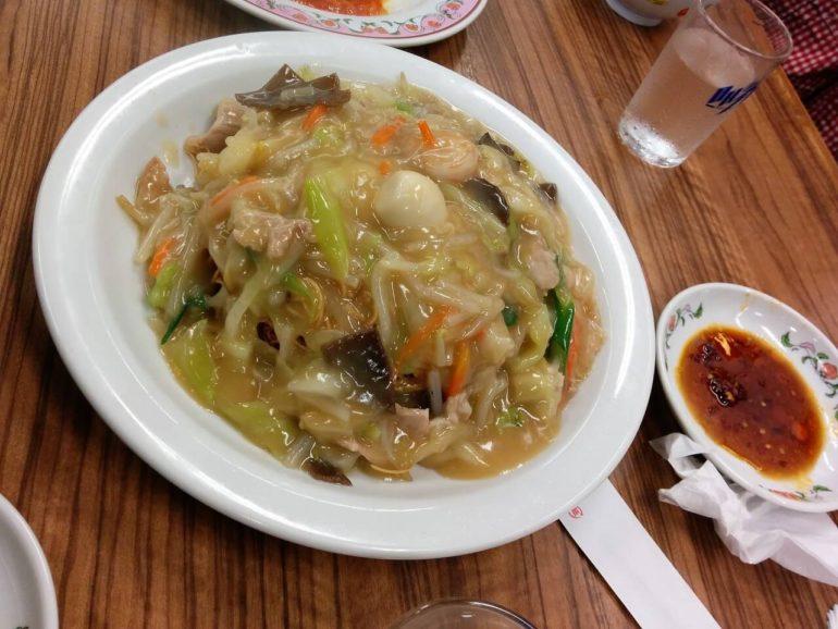 fried noodle dish