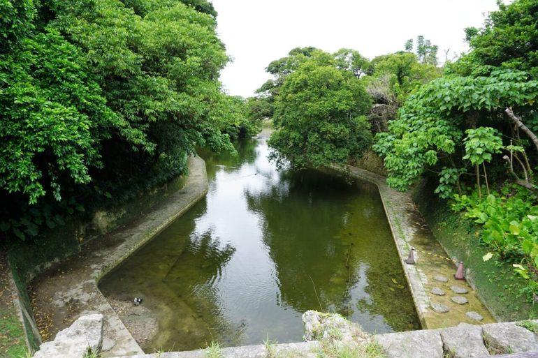 Shuri castle pond