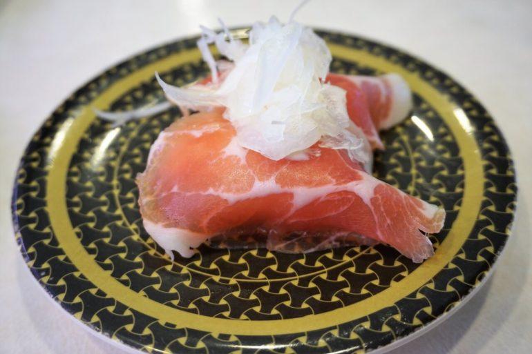 prosciutto sushi