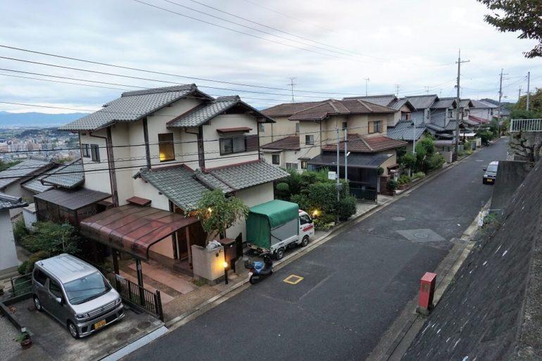 typical suburban neighborhood