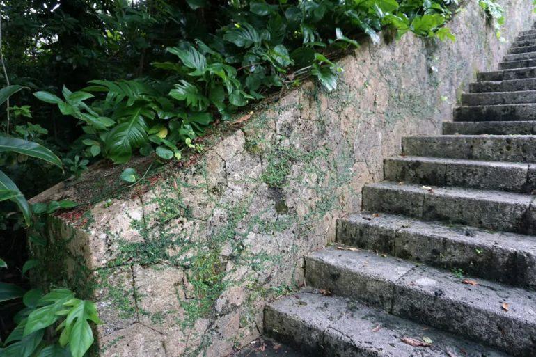 shuri castle stairs