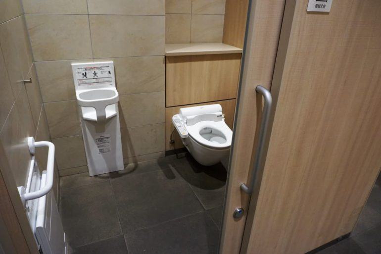 department store toilet