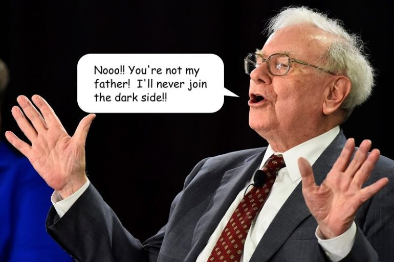 your not my father buffett small