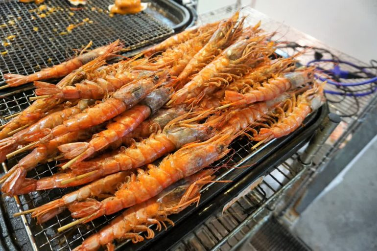 prawns for sale