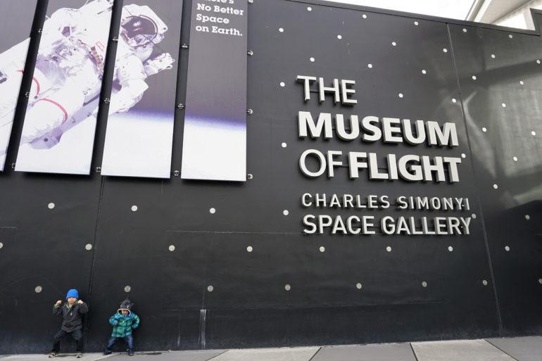 museum of flight pose