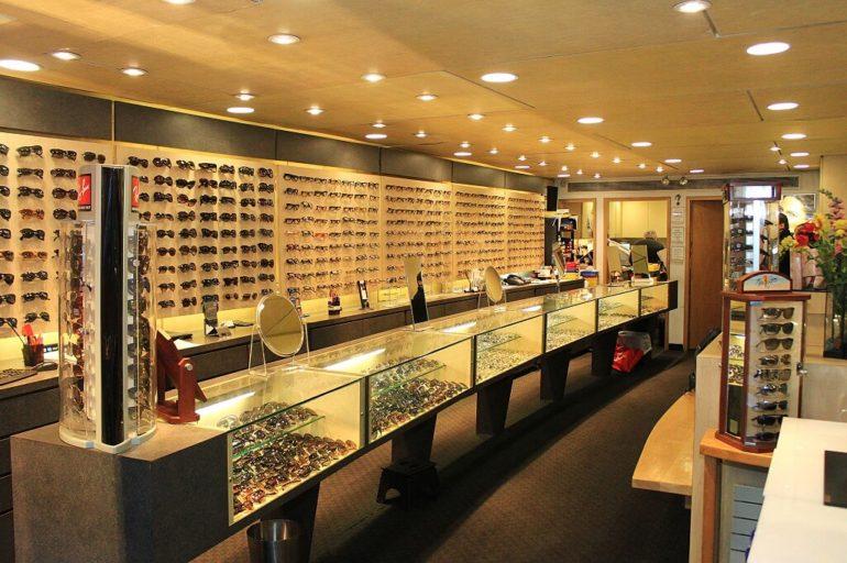 optometrist store