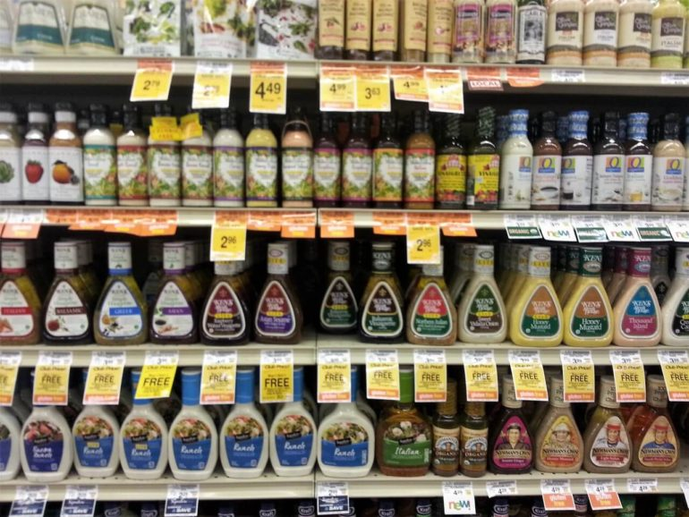 store salad dressings