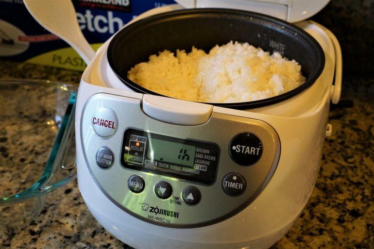 zojirushi rice cooker.