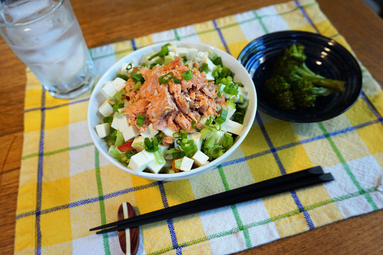 king salmon salad