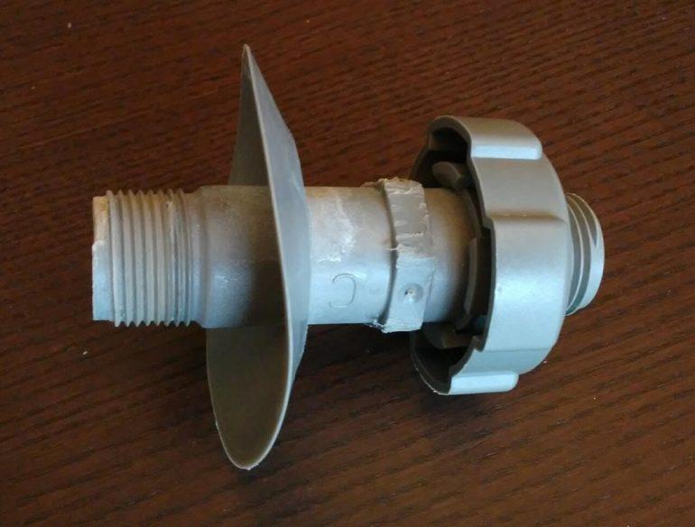 plastic drain valve