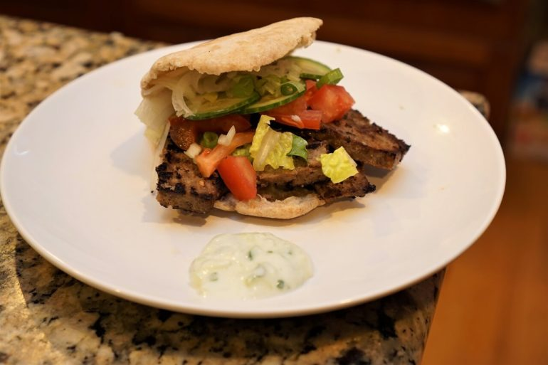 homemade gyro