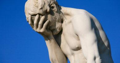 migraine statue