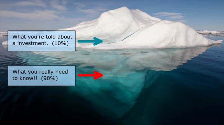 iceberg of information