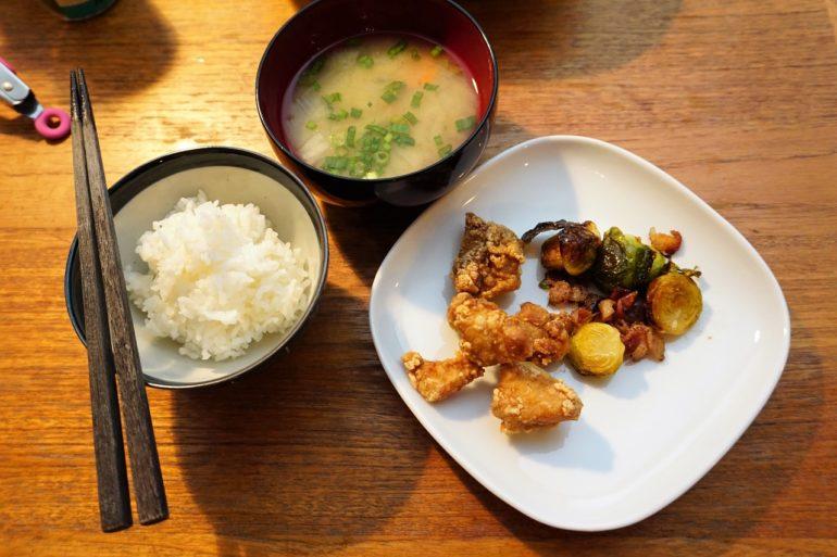 Simple Japanese dinner