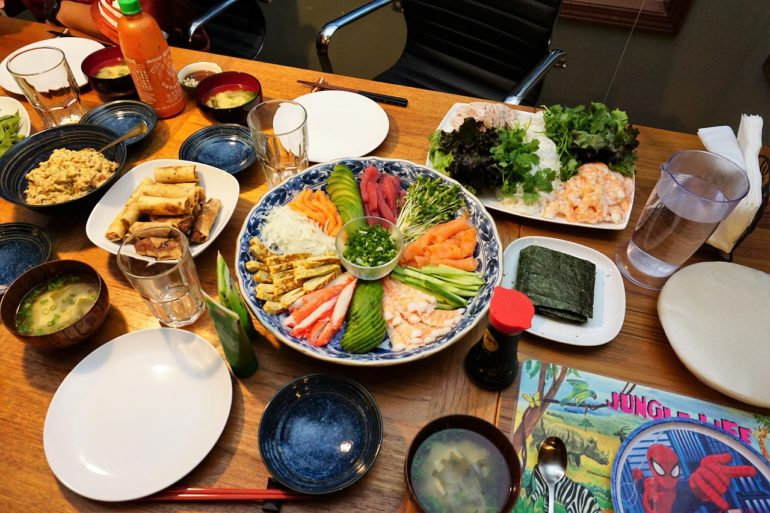 sushi party november