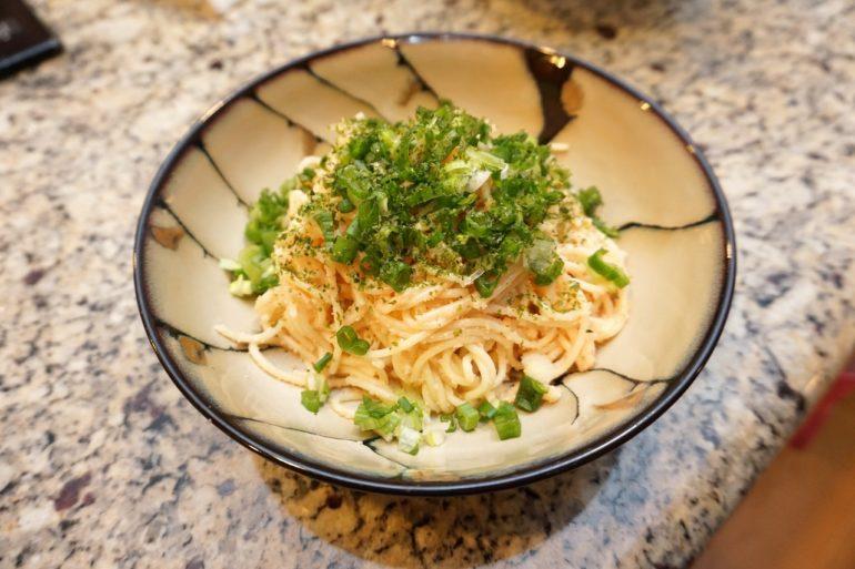 tarako spaghetti