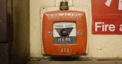 broken fire alarm
