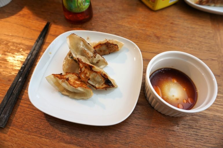 homemade gyoza 2