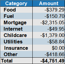 expenses by category June_2019