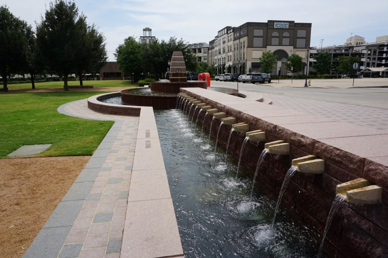 frisco fountains