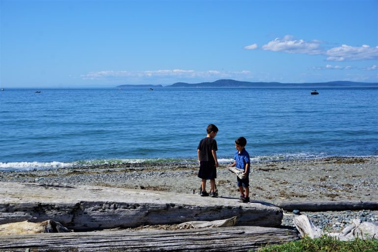 deception pass state park beach