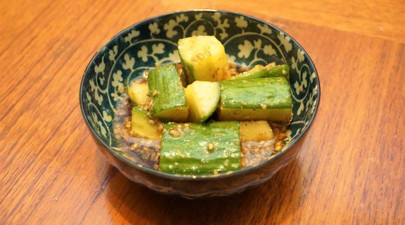izakaya cucumbers