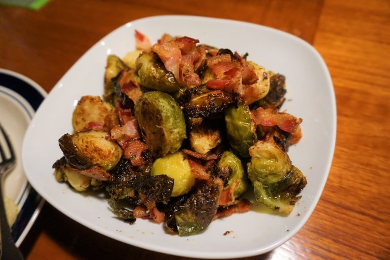 brussels sprouts and bacon
